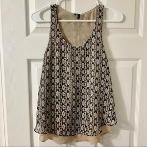 MAURICES Duo-Layer Racerback Tank NWOT